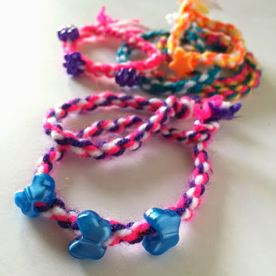 Two Minute Twisted Bracelets