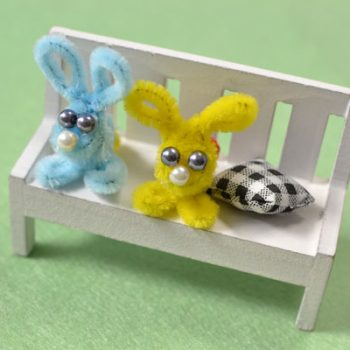 Easy Chenille Rabbit