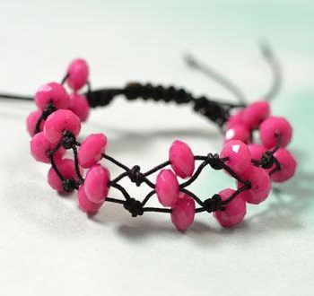 Adjustable Knotted Bracelet