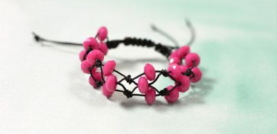 Adjustable Knotted Bracelet
