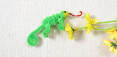 Pipe Cleaner Lizard