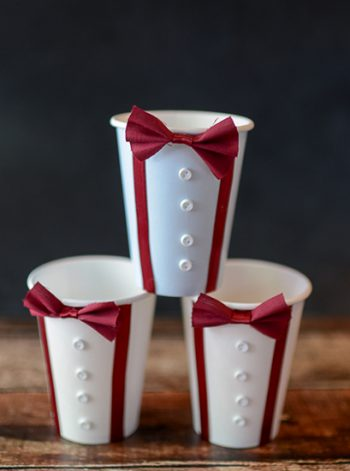 Doctor Who Bow Tie Cups