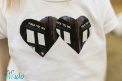 Doctor Who Two Hearts Shirt