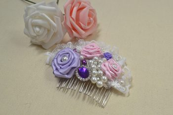Beaded Hair Comb