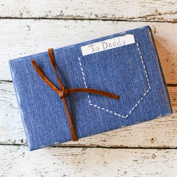 Denim Gift Wrapping