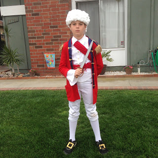 General Cornwallis Costume
