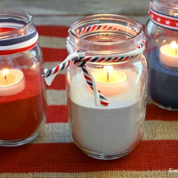 Easy July 4th Centerpiece