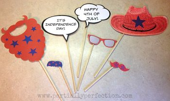 Patriotic Photo Booth Props