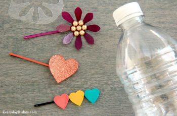 Plastic Bottle Hair Clip