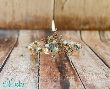 Modern Tiara for a Fairy Queen