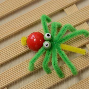 Chenille Spider Craft