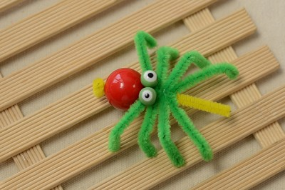 Chenille Spider Craft