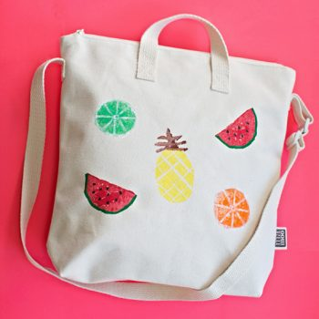 Potato Stamp Fruit Bag