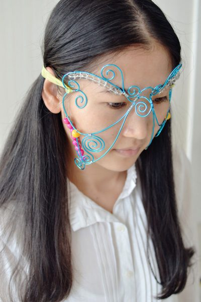 Wire Masquerade Mask