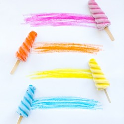 Freezer Paint Popsicles