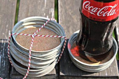 Jar Lid Coaster