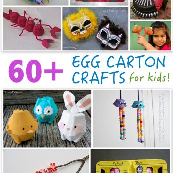 60+ Egg Carton Crafts