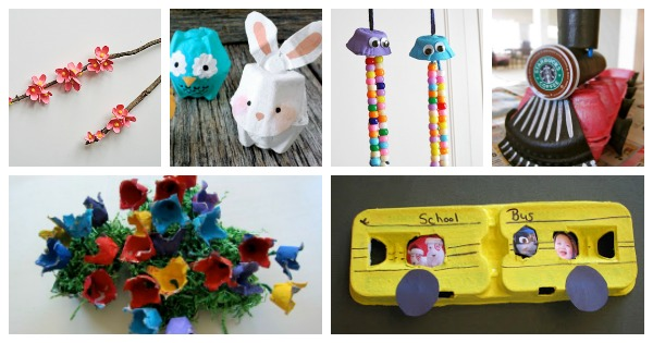 75+ Egg Carton Crafts