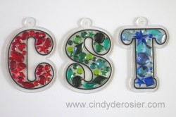 Jeweled Monograms