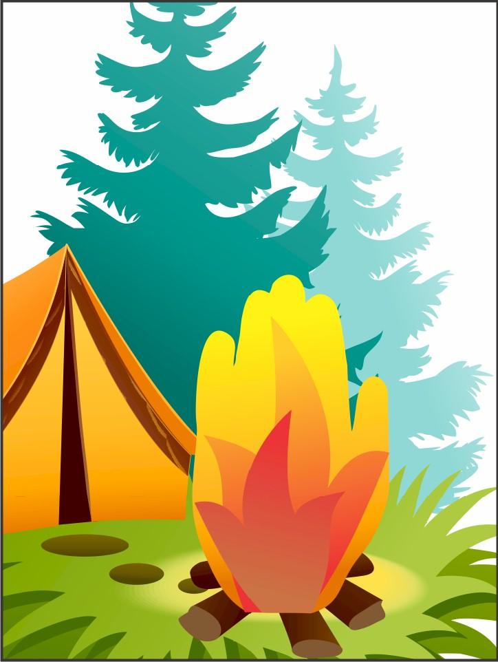 Handprint Campfire