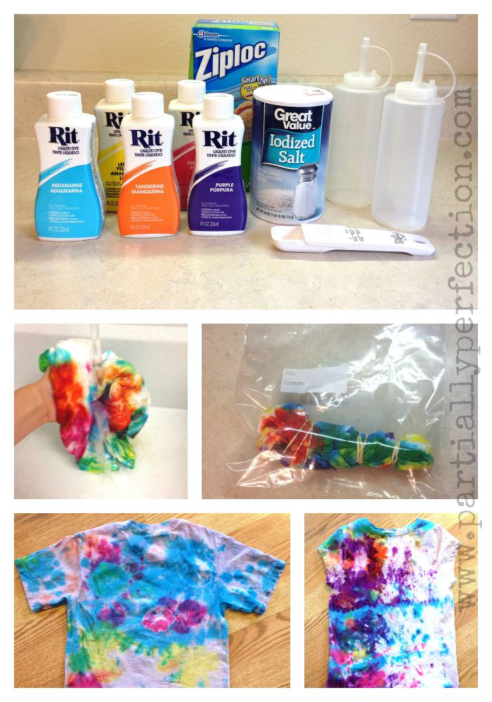 Easy (and Cheap!) Tie-Dye