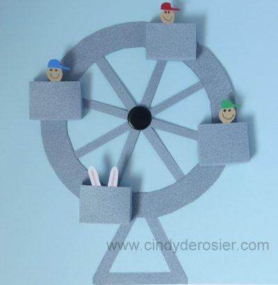 working paper ferris wheel fun family crafts