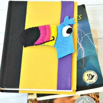 Book Hugger Bookmark