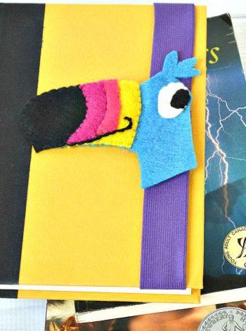 Book Hugger Bookmark