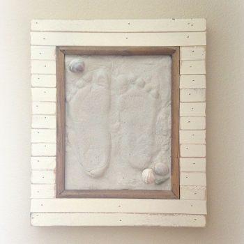 Sand Footprint Keepsake