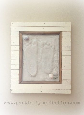 Sand Footprint Keepsake