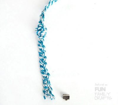Step by step tutorial - How to make your own  Braided Friendship Bracelets at Fun Family Crafts