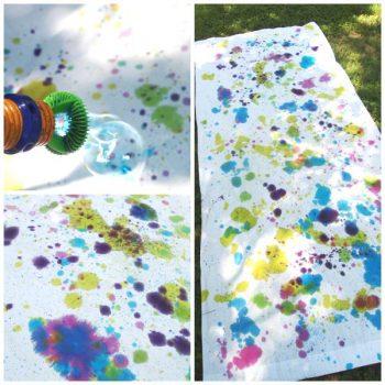 Bubble Blower Tie Dye