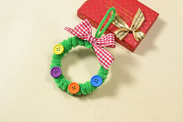 Easy Pipe Cleaner Wreath Fun Family Crafts