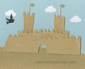 Sandpaper Sandcastle