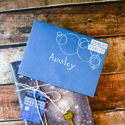 Doctor Who Lake Silencio Envelope