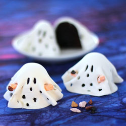 Charlie Brown Ghost Brownies