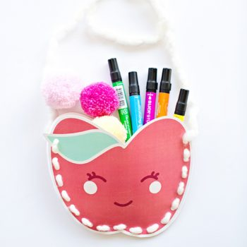 Kawaii Apple Purse