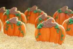 3-D Pumpkin Cookies
