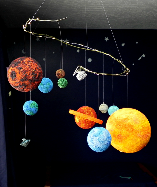 Star Wars Planet Mobile Fun Family Crafts