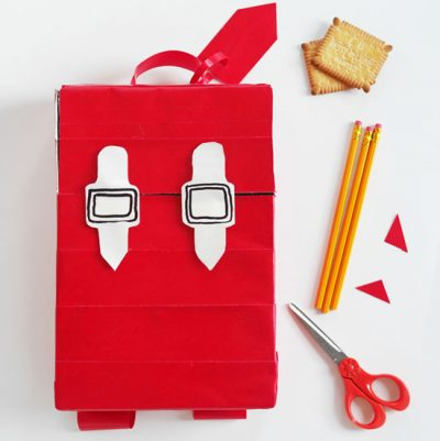 Cereal Box Backpack | Fun Family Crafts