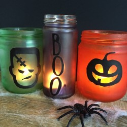 Decorative Halloween Jars