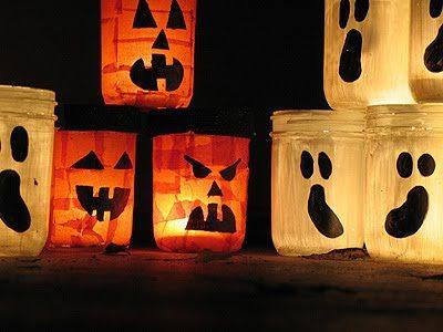 Jack O'Lantern Luminaries