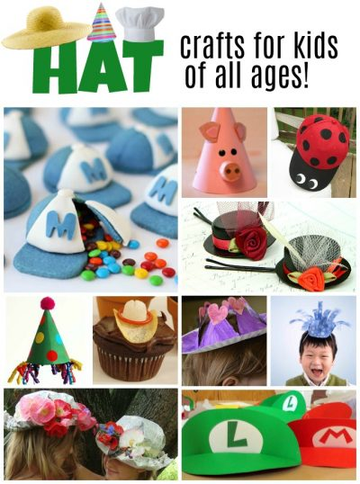 Hat Crafts For Kids Over 100 Creative Ideas