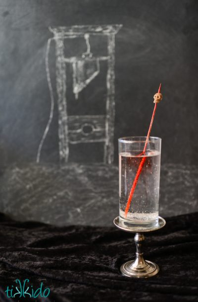 Head on a Pike Drink Stirrers