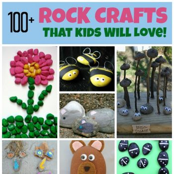 100+ Rock Crafts for Kids