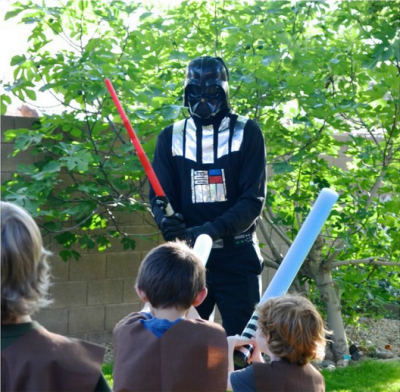 DIY Darth Vader Costume