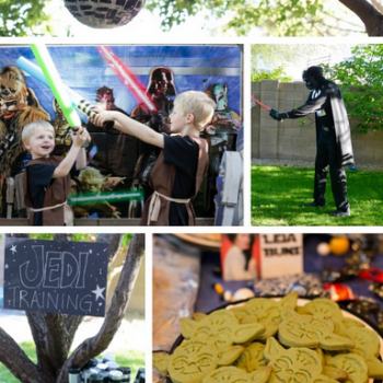 Star Wars Jedi Training Birthday Party