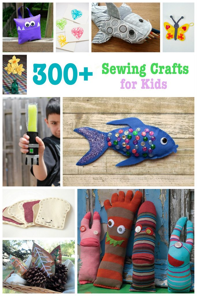 Sewing Patterns for Kids: 300+ Sewing Crafts