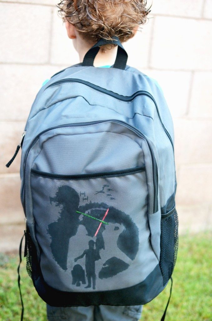 Custom Star Wars Backpack