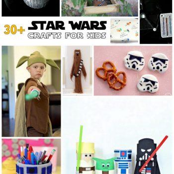 Star Wars Crafts: Over 30 Fun Star Wars Ideas!